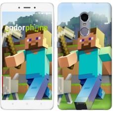 Чехол для Xiaomi Redmi Note 4 Minecraft 4 2944u-352