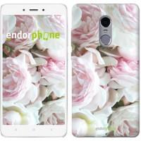 Чехол для Xiaomi Redmi Note 4 Пионы v2 2706u-352