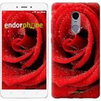 Чехол для Xiaomi Redmi Note 4 Красная роза 529u-352