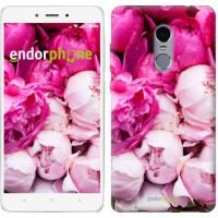 Чехол для Xiaomi Redmi Note 4 Розовые пионы 2747u-352