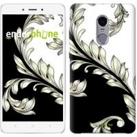 Чехол для Xiaomi Redmi Note 4 White and black 1 2805u-352