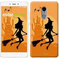 Чехол для Xiaomi Redmi Note 4 Ведьма на метле 1184u-352