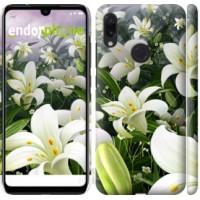 Чехол для Xiaomi Redmi Note 7 Белые лилии 2686m-1639