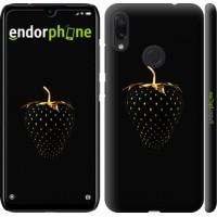 Чехол для Xiaomi Redmi Note 7 Черная клубника 3585m-1639