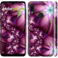 Чехол для Xiaomi Redmi Note 7 Цветочная мозаика 1961m-1639
