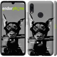 Чехол для Xiaomi Redmi Note 7 Доберман 2745m-1639