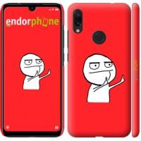 Чехол для Xiaomi Redmi Note 7 Мем 4578m-1639
