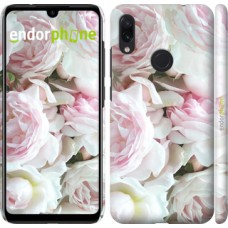 Чехол для Xiaomi Redmi Note 7 Пионы v2 2706m-1639