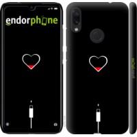 Чехол для Xiaomi Redmi Note 7 Подзарядка сердца 4274m-1639