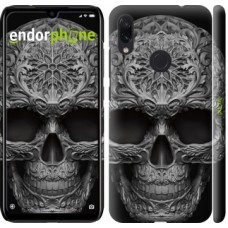 Чехол для Xiaomi Redmi Note 7 skull-ornament 4101m-1639