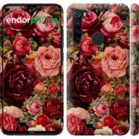 Чехол для Xiaomi Redmi Note 8 Цветущие розы 2701m-1787