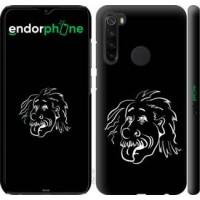 Чехол для Xiaomi Redmi Note 8 Эйнштейн 4759m-1787
