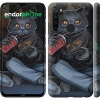 Чехол на Xiaomi Redmi Note 8 gamer cat 4140m-1787