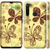 Чехол для Xiaomi Redmi Note 8 Красивые бабочки 4170m-1787