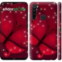 Чехол для Xiaomi Redmi Note 8 Лунная бабочка 1663m-1787