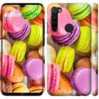 Чехол для Xiaomi Redmi Note 8 Макаруны 2995m-1787