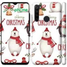 Чехол для Xiaomi Redmi Note 8 Merry Christmas 4106m-1787
