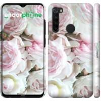 Чехол для Xiaomi Redmi Note 8 Пионы v2 2706m-1787