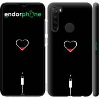 Чехол для Xiaomi Redmi Note 8 Подзарядка сердца 4274m-1787
