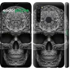 Чехол для Xiaomi Redmi Note 8 skull-ornament 4101m-1787