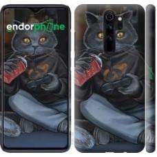 Чехол для Xiaomi Redmi Note 8 Pro gamer cat 4140m-1783