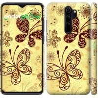 Чехол для Xiaomi Redmi Note 8 Pro Красивые бабочки 4170m-1783
