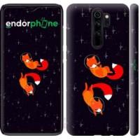 Чехол для Xiaomi Redmi Note 8 Pro Лисички в космосе 4519m-1783