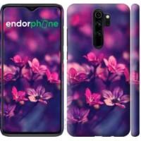 Чехол для Xiaomi Redmi Note 8 Pro Пурпурные цветы 2719m-1783