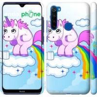 Чехол для Xiaomi Redmi Note 8T Единорожка 3796m-1818