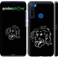 Чехол для Xiaomi Redmi Note 8T Эйнштейн 4759m-1818