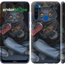 Чехол для Xiaomi Redmi Note 8T gamer cat 4140m-1818