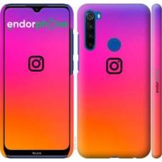 Чехол для Xiaomi Redmi Note 8T Instagram 4273m-1818