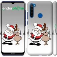 Чехол для Xiaomi Redmi Note 8T Новогодний 10 4623m-1818