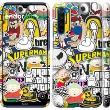 Чехол для Xiaomi Redmi Note 8T Popular logos 4023m-1818