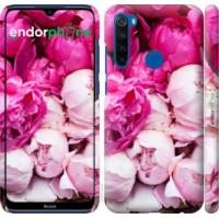 Чехол для Xiaomi Redmi Note 8T Розовые пионы 2747m-1818
