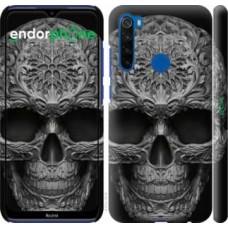 Чехол для Xiaomi Redmi Note 8T skull-ornament 4101m-1818