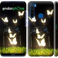 Чехол для Xiaomi Redmi Note 8T Бабочки 2983m-1818