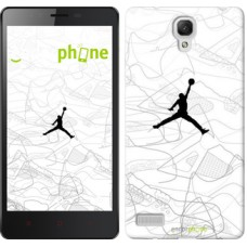 Чехол для Xiaomi Redmi Note Air Jordan 3688u-111