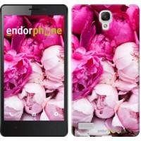 Чехол для Xiaomi Redmi Note Розовые пионы 2747u-111