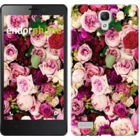 Чехол для Xiaomi Redmi Note Розы и пионы 2875u-111
