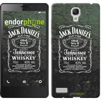 Чехол для Xiaomi Redmi Note Whiskey Jack Daniels 822u-111